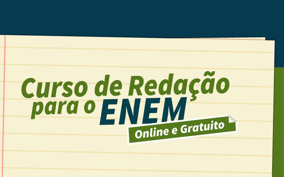 Unihorizontes oferece curso intensivo online de técnicas de redação para estudantes que vão fazer a prova do Enem