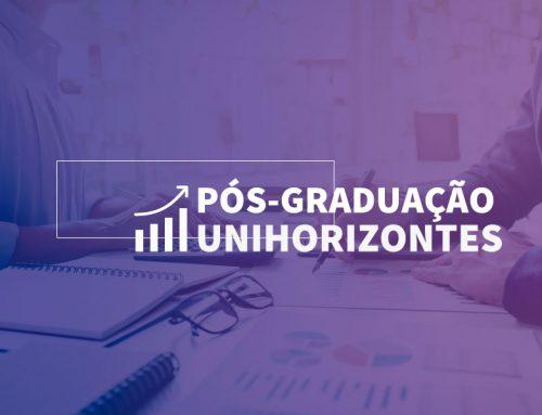 Unihorizontes abre inscrições para cursos de pós-graduação lato sensu. Aulas terão início em 2019