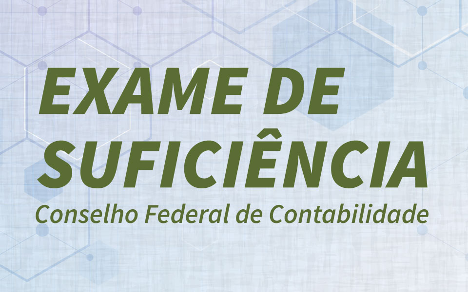 Aulas preparatórias para o Exame de Suficiência do Conselho Federal de Contabilidade